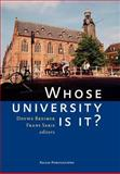 Whose University Is It?, , 9085553415