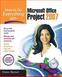 Microsoft Office Project 2007, Marmel, Elaine, 0072263415