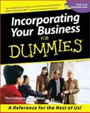 Incorporating Your Business for Dummies, U. S. Corporation Staff, 0764553410