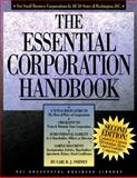 Essential Corporation Handbook, Carl R. J. Sniffen, 1555713424