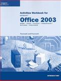 Microsoft Office 2003 : Word - Excel - Access - Powerpoint - Outlook - Publisher, Pasewark and Pasewark Staff, 061918342X