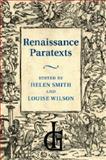Renaissance Paratexts, , 1107463424