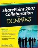 SharePoint® 2007 Collaboration for Dummies®, Greg Harvey, 0470413425