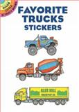 Favorite Trucks Stickers, Bruce LaFontaine, 0486423425