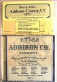 Atlas of Addison Co, Vermont, 1871, CD Edition,, 0911653422
