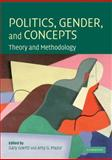 Politics, Gender, and Concepts : Theory and Methodology, , 0521723426