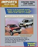 Imports Trucks and SUVs, 1970-1998 9780801993428
