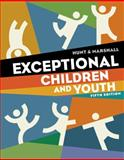 Exceptional Children and Youth, Hunt, Nancy and Marshall, Kathleen, 1111833427