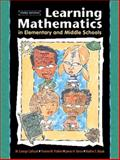 Learning Mathematics in Elementary and Middle Schools, Cathcart, W. George and Bezuk, Nadine S., 0130483435