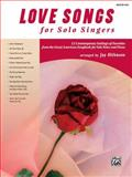 Love Songs for Solo Singers, Alfred Publishing, 0739053434