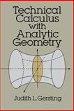 Technical Calculus with Analytic Geometry, Gersting, Judith L., 048667343X