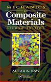 Mechanics of Composite Materials, Kaw, Autar K., 0849313430