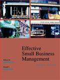 Effective Small Business Management, Hodgetts, Richard M. and Kuratko, Donald F., 047000343X