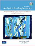 Analytical Reading Inventory, Woods, Mary Lynn J. and Moe, Alden J., 013172343X