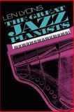 The Great Jazz Pianists, Leonard S. Lyons, 0306803437