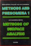 Methods of Surface Analysis, Alvin Warren Czanderna, 0444413448