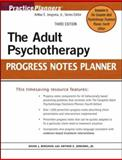 The Adult Psychotherapy Progress Notes Planner, Jongsma, Arthur E., Jr. and Berghuis, David J., 0471763446