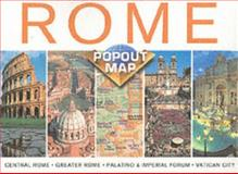 Rome Double Compass Map, Compass Staff, 1841393444