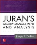 Juran's Quality Management and Analysis 6th Edition
