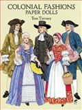 Colonial Fashions Paper Dolls, Tom Tierney, 0486283445