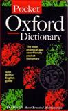 The Pocket Oxford Dictionary of Current English., Della Thompson, 0198603452