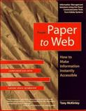 From Paper to Web, McKinley, Tony, 1568303459