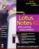 Foundations of Lotus Notes X Application Development, Kerwien, Erica, 1568843453