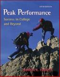 Peak Performance : Success in College and Beyond with online access Card, Ferrett, Sharon, 0073133450