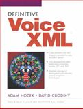 Definitive VoiceXML, Hocek, Adam and Cuddihy, David, 0130463450