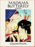 Madama Butterfly in Full Score, Giacomo Puccini, 0486263452