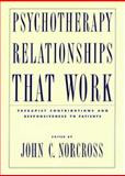 Psychotherapy Relationships That Work, , 0195143469