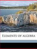 Elements of Algebr, Leonhard Euler, 1149363460