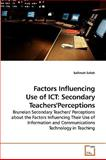 Factors Influencing Use of Ict, Sallimah Salleh, 3639073460