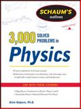 3000 Solved Problems in Physics, Halpern, Alvin, 0071763465