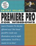 Premiere Pro for Windows, Antony Bolante, 0321213467