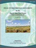 Final Environmental Assessment for the Phycal Algae Pilot Project, Wahiawa and Kalaeloa, HI (DOE/EA-1829), U. S. Department Energy and National Energy Laboratory, 1482553465