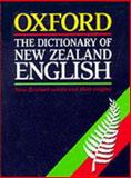 The Dictionary of New Zealand English : A Dictionary of New Zealandisms on Historical Principles, , 0195583477