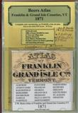 Atlas of Franklin and Grand Isle Cos, Vermont, 1871, CD Edition,, 0911653473