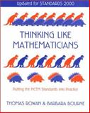 Thinking Like Mathematicians, Updated for Standards 2000 9780325003474