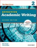 Effective Academic Writing, Alice Savage and Patricia Mayer, 0194323471