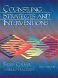 Counseling Strategies and Interventions, Cormier, Sherry and Hackney, Harold, 0205293476