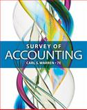 Survey of Accounting, Warren, Carl S., 1285183487