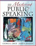Mastering Public Speaking, Books a la Carte Plus MySpeechLab, Grice and Grice, George L., 020574348X