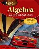 Algebra Vol. 1 : Concepts and Applications, McGraw-Hill Staff, 0078703484