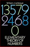 Elementary Theory of Numbers, LeVeque, William J., 0486663485