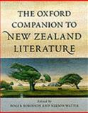 The Oxford Companion to New Zealand Literature, Wattie, Nelson, 0195583485