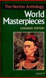 The Norton Anthology of World Masterpieces, Pasinetti, P. M. and Spacks, Patricia Meyer, 0393963489