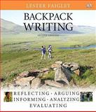 Backpack Writing, Faigley, Lester, 0205743498
