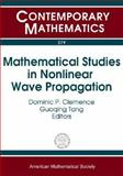 Mathematical Studies in Nonlinear Wave Propagation, Dominic P. Clemence, Guoqing Tang, Nsf-cbms Regional Research Conference on, 0821833499