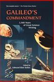 Galileo's Commandment, Edmund Bolles, 0805073493
